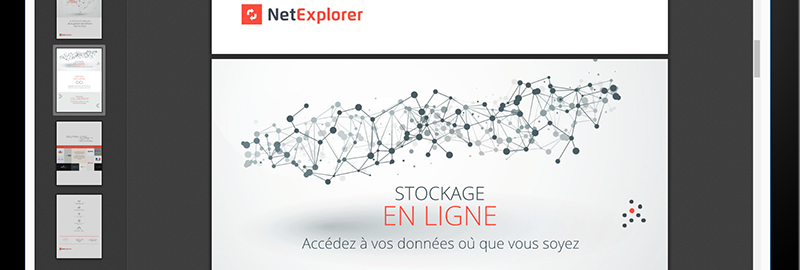 Comment visualiser et modifier un document sur NetExplorer ?